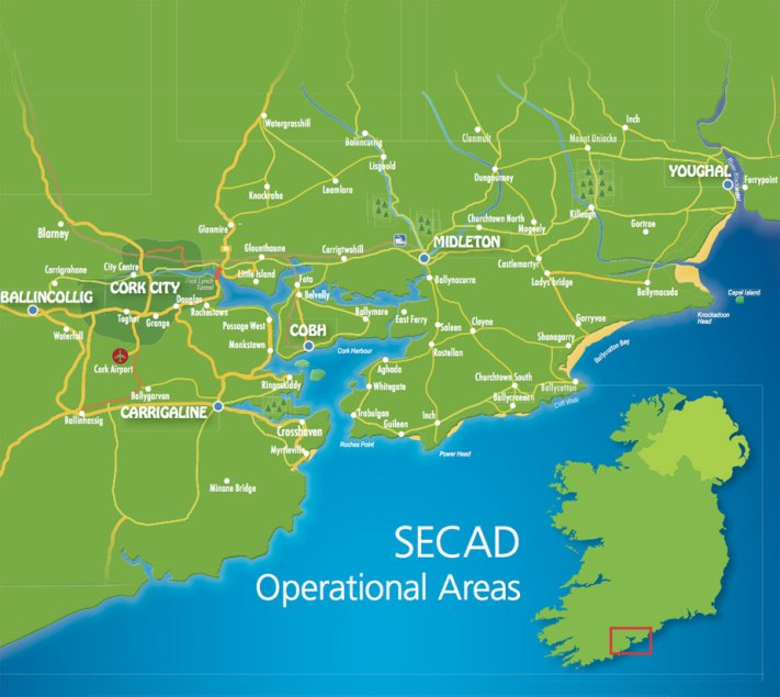 secad area Map